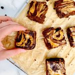 'Keto' Peanut Butter & Banana Brownies