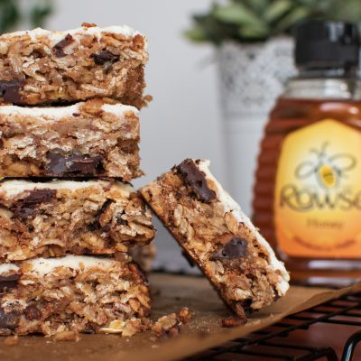Honey Crisp Granola Bars