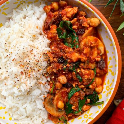 Moroccan Chickpea & Turkey Curry