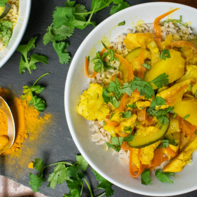 Turmeric and Pineapple Curry